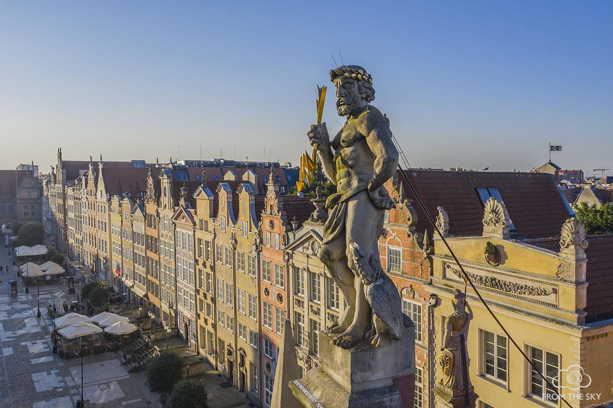 Zeus przy Długim Targu w Gdańsku