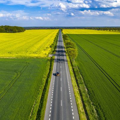 Wiosenny krajobraz Opolszczyzny