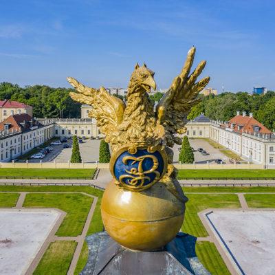 Orzeł przy Pałacu Branickich w Białymstoku