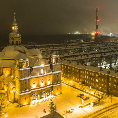 Zimowy Nikiszowiec.