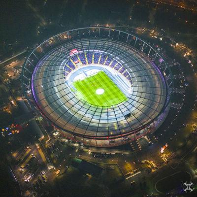 Stadion Śląski z lotu ptaka